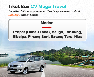 Newly launched Mega Travel Bus tickets