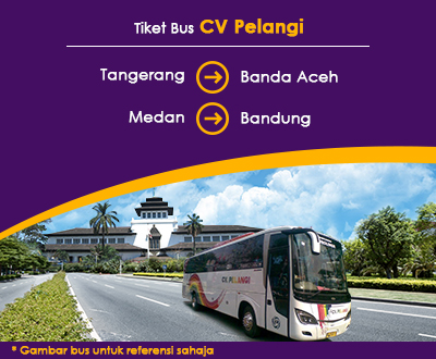 Newly launched CV Pelangi Bus Tickets