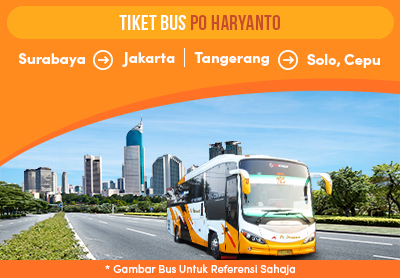 Newly launched Haryanto Bus Tickets