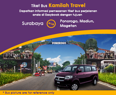 Newly launched Kamilah Travel Shuttle Tickets