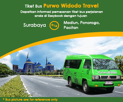 Newly launched Purwo Widodo Shuttle Tickets