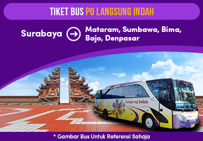 Newly launched Langsung Indah Bus Tickets